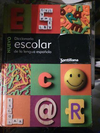 Diccionarios, latín, inglés, español.