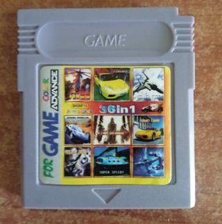 Game boy-Juegos Multiples-