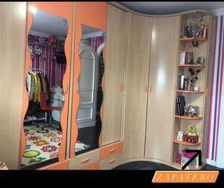 Armario dormitorio + Cama doble.