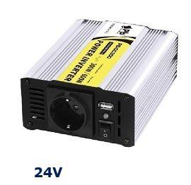 INVERSOR 300 W-24V a 230V-PROFESIONAL-ONDA MODIFIC