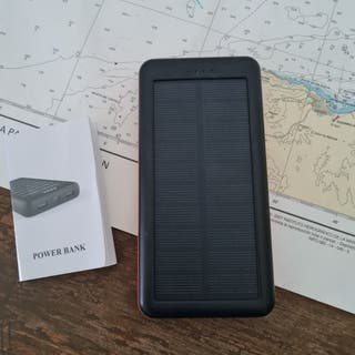 Bateria externa solar para móvil,tablet, cámara
