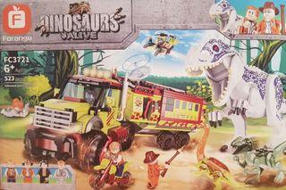 juego construcción Jurassic Park