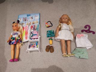 2 Dolls + accessories