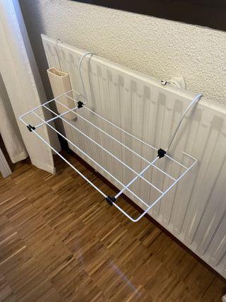 Tendedero pequeño para radiador