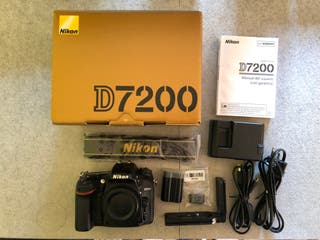 Nikon d7200 + Sigma 17-70 2.8-4 + Mochila
