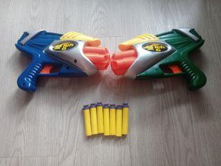 Pistola de dardos