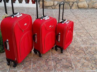 juego de maletas 4 ruedas * 69€€