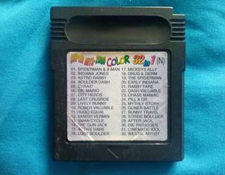 Juegos Game boy color 32 Juegos en 1.