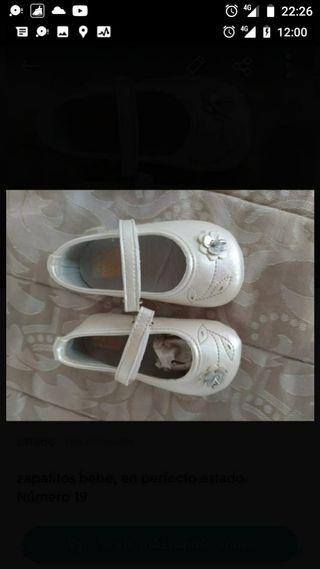 zapatos niña número 19