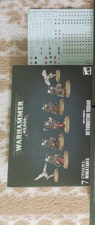 Warhammer 40k Battle Sisters Retributor Squad