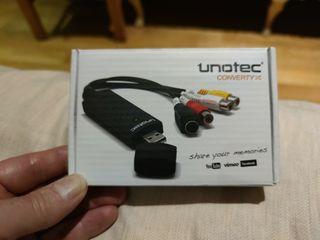 Convertidor audio-vídeo a digital UNOTEC