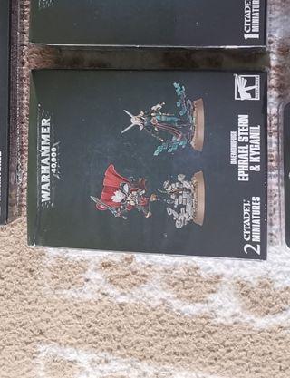 Warhammer 40k Battle Sisters Ephrael Stern