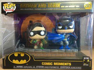 Funko pop Batman y Robin 281