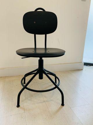 6 sillas giratorias de escritorio
