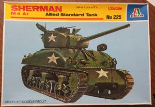 Maqueta Italeri tanque Sherman 1/35