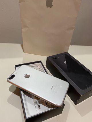 iPhone 7 Plus 32Gb Plata Batería 100% Garantia