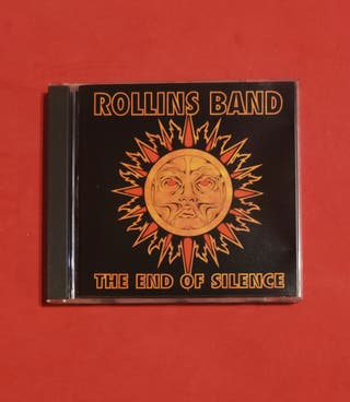 CD ROLLINS BAND The end of silence