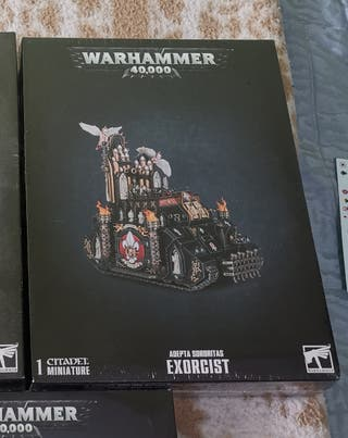 Warhammer 40k Battle Sisters Tanque Exorcista