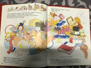 Colección 4 libros infantiles para aprender inglés