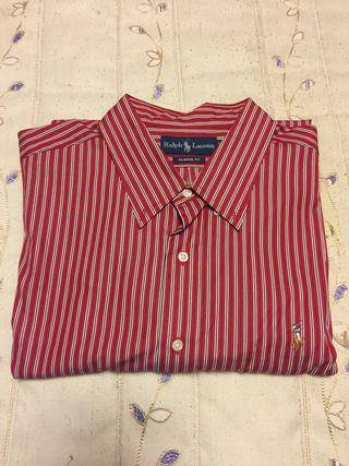 Camisa roja Polo Ralph Lauren talla grande XXL