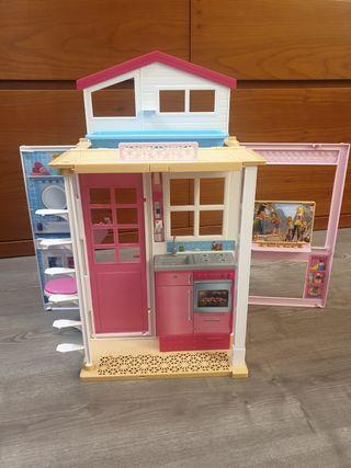 casa piscina barbie