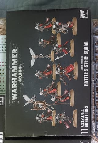 Warhammer 40k Battle Sisters Squad