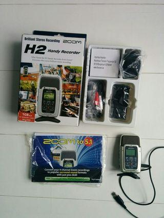 Grabadora digital Zoom H2