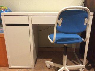 Escritorio con silla Ikea