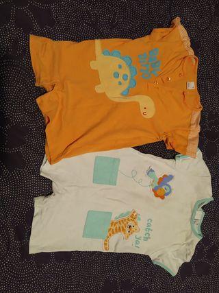 lote pijamas verano bebe + ragálo