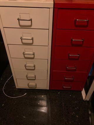 Cajonera IKEA escritorio