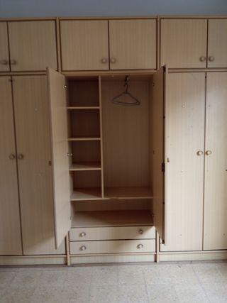 armario doble cama