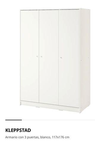 Armario de 3 puertas IKEA Klepsstad