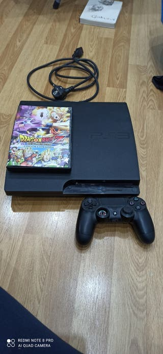 ps3 mas mando de play 4 mas pelicula dragon ball