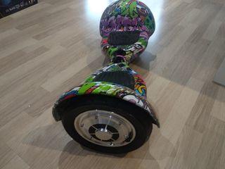 "Patinete eléctrico cool&fun hoverboard 10"""