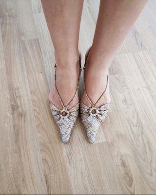 zapatos de fiesta sandalias