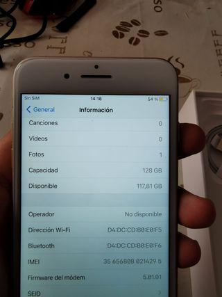 lo vendo un iPhone 7 plus 128gb