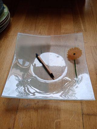 plato de cristal