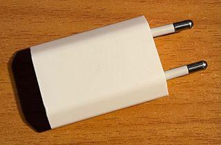 Adaptador corriente Apple original
