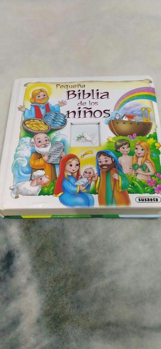 LIBRO LA BIBLIA PARA NIÑOS