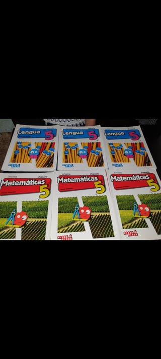 libros de lengua y matematicas