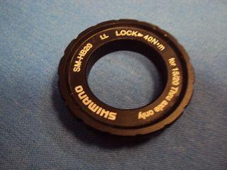 NUEVO. Shimano Centerlock Lockring SM-HB20 20-15