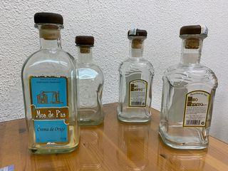 Botellas cristal lote