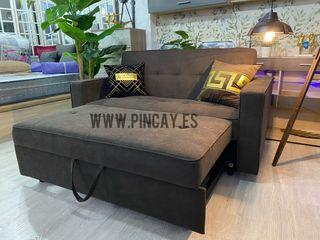 Sofá cama nuevo 2 plazas desde 33€ mensuales
