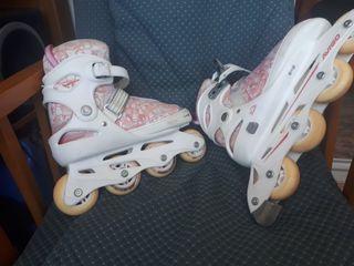 patine niñas extensible