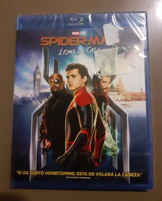 Precintado! Spiderman Lejos de Casa Blu-Ray Marvel