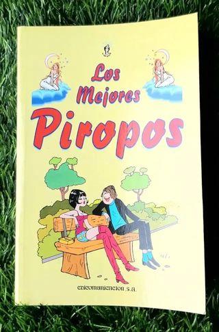LIBRO LOS MEJORES PIROPOS COLECCION EVASION