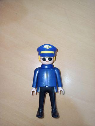 Playmobil piloto avión