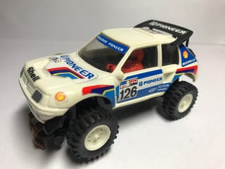 Scalextric STS Peugeot 205 Turbo 16 Blanco Exin
