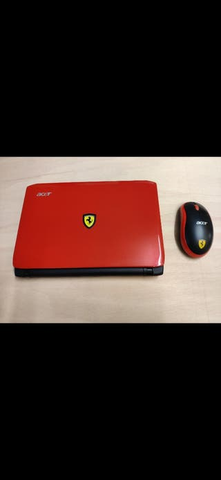 PC portátil Acer Ferrari One 200 impecable.