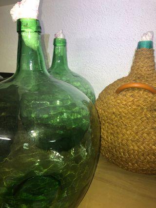 Botellas de cristal 20 L